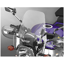 National Cycle Deflector Screen DX - 2001 Kawasaki Vulcan 750 - VN750A National Cycle Flyscreen Windshield - Light Smoke