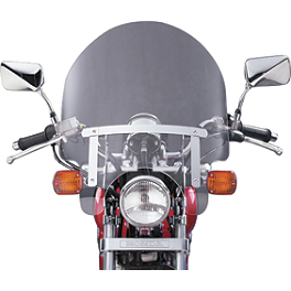 National Cycle Dakota 3.0 Standard Windshield - 1997 Honda Shadow VLX - VT600C National Cycle Dakota 4.5 Chrome Lowers