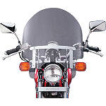 National Cycle Dakota 3.0 Standard Windshield - Kawasaki Vulcan 500 LTD - EN500C Cruiser Wind Shield and Accessories