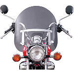 National Cycle Dakota 3.0 Tall Windshield - Kawasaki Vulcan 500 LTD - EN500C Cruiser Wind Shield and Accessories