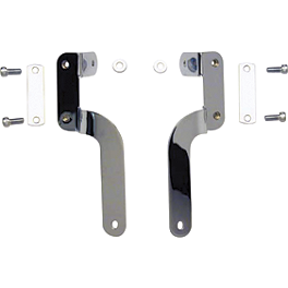 National Cycle Dakota 4.5 Windshield Mount Kit - 1999 Yamaha V Star 650 Custom - XVS650 Memphis Shades Trigger-Lock Mounting Kit For Fats And Slim Windshields