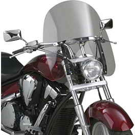 National Cycle Dakota 4.5 Windshield - 2003 Honda Shadow Spirit 1100 - VT1100C National Cycle Flyscreen Windshield - Light Smoke