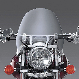 National Cycle Switchblade Deflector Windshield With Mount Kit - 2002 Harley Davidson Dyna Low Rider - FXDL National Cycle Light Bar