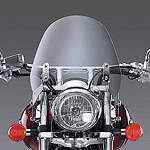 National Cycle Switchblade Deflector Windshield With Mount Kit - National Cycle Cruiser Wind Shield and Accessories