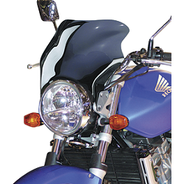 National Cycle F-16 Sport Fairing - Dark Smoke - 1990 Suzuki GS 500E National Cycle F-16 Touring Fairing - Light Smoke