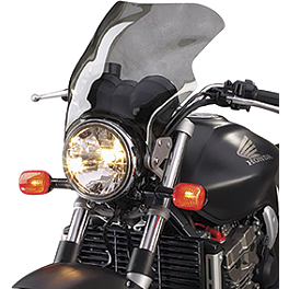 National Cycle F-16 Touring Fairing - Light Smoke - National Cycle Fork Mount Vstream Windscreen - 18