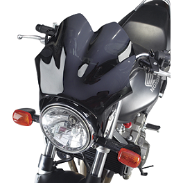 National Cycle F-18 Sport Fairing - Dark Smoke - 2002 Honda CB919F - 919 National Cycle Hand Deflector - Clear