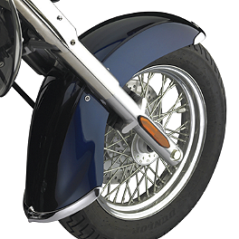 National Cycle Cast Front Fender Tip Set - 2008 Kawasaki Vulcan 1600 Classic - VN1600A National Cycle Light Bar