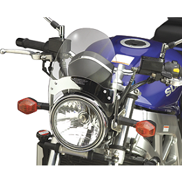 National Cycle Flyscreen Windshield - Light Smoke - 2000 Yamaha Virago 535 - XV535 National Cycle Dakota 3.0 Standard Windshield