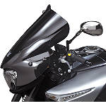 "National Cycle Fork Mount Vstream Windscreen - 20""/Dark Smoke - Suzuki GSX1300BK - B-King Motorcycle Windscreens and Accessories"