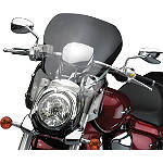 "National Cycle Fork Mount Vstream Windscreen - 19.25""/Light Smoke - Motorcycle Windshields & Accessories"