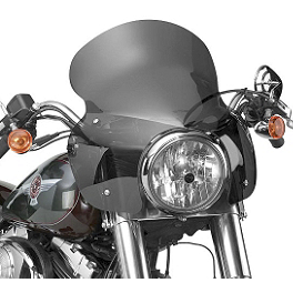 National Cycle Stinger Quick-Release Fairing With Mount Kit - 1999 Harley Davidson Sportster Custom 1200 - XL1200C National Cycle Light Bar