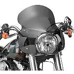 National Cycle Stinger Quick-Release Fairing With Mount Kit - National Cycle Cruiser Wind Shield and Accessories