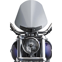 National Cycle Gladiator Windshield - 2002 Harley Davidson Dyna Low Rider - FXDL National Cycle Light Bar