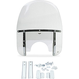 National Cycle Heavy Duty Wide Frame Windshield With Mount Kit - 2000 Harley Davidson Dyna Wide Glide - FXDWG National Cycle Light Bar