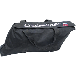 National Cycle Cruiseliner Inner Duffel Set - 2009 Kawasaki Vulcan 500 LTD - EN500C National Cycle Flyscreen Windshield - Dark Smoke