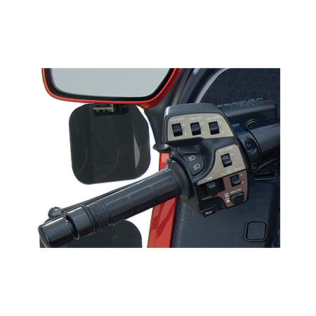 National Cycle Mirror Mount Wing Deflector - Dark Tint