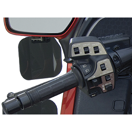 National Cycle Mirror Mount Wing Deflector - 2010 Honda Gold Wing Airbag - GL1800 National Cycle Fairing Mount Wing Deflectors