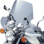 National Cycle Plexistar 2 Windshield - Kawasaki Vulcan 500 LTD - EN500C Cruiser Wind Shield and Accessories
