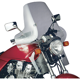 National Cycle Plexifairing 3 Windshield - 1999 Honda Shadow ACE 750 - VT750C National Cycle Light Bar
