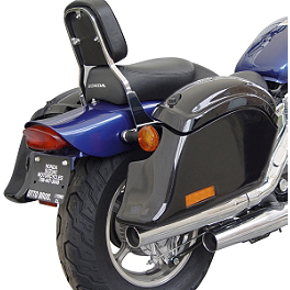 National Cycle Cruiseliner Quick Release Pocket-Back Saddlebags Without Mounts - Amber Reflector - 2006 Honda Shadow Spirit 1100 - VT1100C National Cycle Light Bar