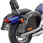 National Cycle Cruiseliner Quick Release Pocket-Back Saddlebags Without Mounts - Amber Reflector -  Cruiser Saddle Bags