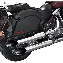 National Cycle Peacemakers Exhaust - 2006 Honda VTX1300R National Cycle Light Bar