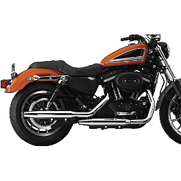 National Cycle Peacemakers Exhaust - 2006 Harley Davidson Sportster Custom 883 - XL883C National Cycle Light Bar