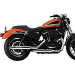 National Cycle Peacemakers Exhaust -  Metric Cruiser Slip On Exhaust Systems