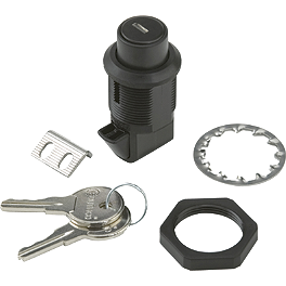 National Cycle Cruiseliner Replacement Push Lock With Shutter - 2004 Kawasaki Eliminator 125 - BN125A National Cycle Dakota 3.0 Standard Windshield
