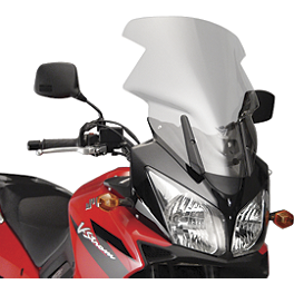 National Cycle Fairing Mount Vstream Windscreen - Clear - 2009 Suzuki DL1000 - V-Strom National Cycle Fairing Mount Vstream Windscreen - Clear