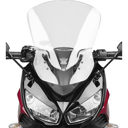 National Cycle Fairing Mount Vstream Windscreen - Clear - Suzuki Genuine Accessories Sport Touring Windshield - Light Smoke