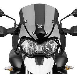 National Cycle Fairing Mount VStream Windscreen - Dark Smoke - National Cycle Fairing Mount Vstream Windscreen - Clear