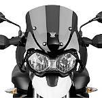 National Cycle Fairing Mount VStream Windscreen - Dark Smoke - Triumph Dirt Bike Windscreens and Accessories