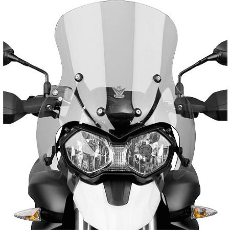 National Cycle Fairing Mount Vstream Windscreen - Light Smoke - Main