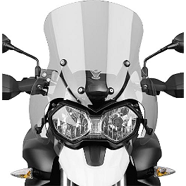 National Cycle Fairing Mount Vstream Windscreen - Light Smoke - GYTR Tall Windshield - Clear