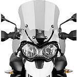 National Cycle Fairing Mount Vstream Windscreen - Light Smoke - Triumph Dirt Bike Windscreens and Accessories