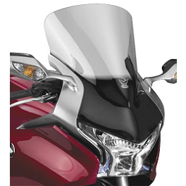 National Cycle Fairing Mount VStream Windscreen - Tall/Light Smoke - Honda Genuine Accessories Center Stand