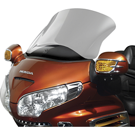 National Cycle Fairing Mount Vstream Windscreen - Clear - 2008 Honda Gold Wing 1800 Audio Comfort Navigation - GL1800 National Cycle Fairing Mount Wing Deflectors