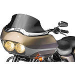 National Cycle Fairing Mount VStream Windscreen - Low/Dark Smoke - Motorcycle Windshields & Accessories