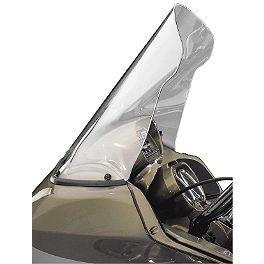 National Cycle Fairing Mount VStream Windscreen - Tall/Clear - Kuryakyn AirMaster Aerodynamic Windshield - Clear