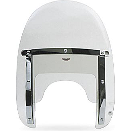 National Cycle Heavy Duty Narrow Frame Ranger Windshield - 1999 Harley Davidson Dyna Super Glide - FXD National Cycle Light Bar