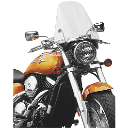 National Cycle Street Shield - 2002 Honda Shadow VLX - VT600C National Cycle Flyscreen Windshield - Dark Smoke