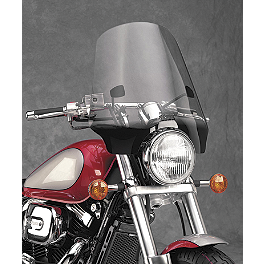 National Cycle Street Shield Ex - 2007 Kawasaki Vulcan 500 LTD - EN500C National Cycle Flyscreen Windshield - Light Smoke