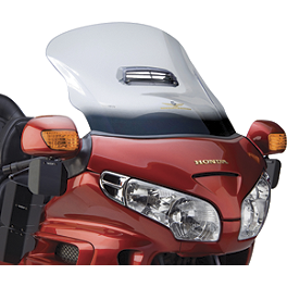 National Cycle Fairing Mount Vstream Special Edition Windscreen - Clear - 2006 Honda Gold Wing 1800 Audio Comfort Navigation - GL1800 National Cycle Mirror Mount Wing Deflector