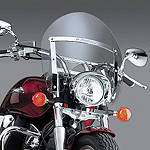 National Cycle Switchblade Shorty Windshield With Mount Kit - National Cycle Cruiser Wind Shield and Accessories