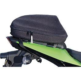 National Cycle Storage Pod - 2008 Harley Davidson Sportster Low 883 - XL883L National Cycle Cruiseliner Quick Release Smooth-Back Saddlebags Without Mounts - Amber Reflector