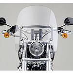National Cycle Spartan Quick-Release Windshield With Mount Kit - National Cycle Cruiser Wind Shield and Accessories