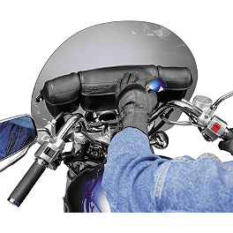 National Cycle Triple Holdster - 2009 Kawasaki Vulcan 500 LTD - EN500C National Cycle Flyscreen Windshield - Dark Smoke
