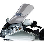 National Cycle Fairing Mount Vstream Windscreen With Vent Cutout - Clear - Motorcycle Windshields & Accessories